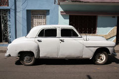 Cuba oldtimer car Royalty Free Stock Photos
