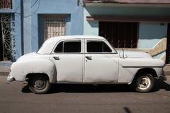 Cuba oldtimer car royalty free stock photos