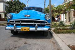 Cuba oldtimer Stock Photo