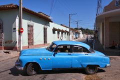 Cuba oldtimer Royalty Free Stock Photo