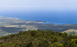 Cuba overlooking Guantanamo and the coast.  Royalty Free Stock Photos