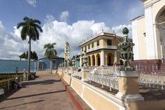 Cuba, park in Trinidad Royalty-vrije Stock Foto