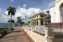 Cuba, park in Trinidad Royalty Free Stock Photo