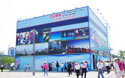Cuba Pavilion in Expo2010 Shanghai China Royalty Free Stock Photos