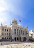Cuba plaatst de revolutie in Havana Stock Foto