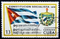 Cuba postage circa. 1976 Stock Image