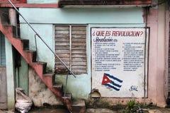 Cuba - Revolutie Royalty-vrije Stock Foto