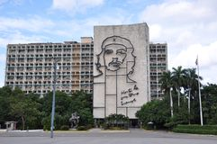Cuba's Ministry of Interior Building Royalty Free Stock Photos