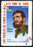 CUBA - 1962: shows Fidel Castro Royalty Free Stock Images