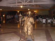 Actor in Cuba in the Spring. Cuban Resort stock photography