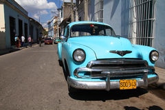 Cuba street Royalty Free Stock Photography