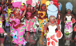 Cuba Street Market Dolls Royalty Free Stock Photos