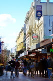 Cuba Street in Wellington New Zealand Royalty Free Stock Photos