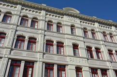 Cuba Street in Wellington New Zealand Stock Image