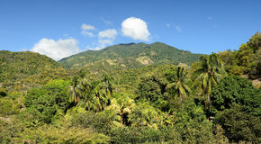 Cuba, Tourist trail into Pico Turquino tops Stock Images