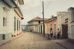 cuba trinidad fotografering för bildbyråer