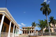 Cuba - Trinidad old town Royalty Free Stock Image