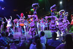 CUBA TROPICANA NIGHTCLUB SHOW Stock Images