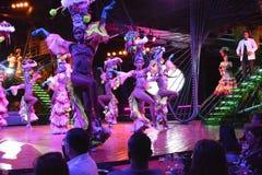 CUBA TROPICANA NIGHTCLUB SHOW Stock Photography