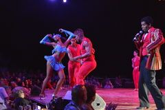 CUBA TROPICANA NIGHTCLUB SHOW Royalty Free Stock Photography