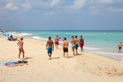 Cuba vacation Royalty Free Stock Photos