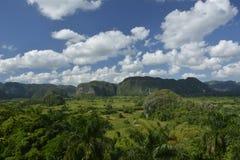 CUBA Valle de Viñales em Piñar del Rio Fotografia de Stock Royalty Free