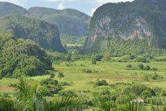 CUBA Valle de Viñales em Piñar del Rio Fotos de Stock