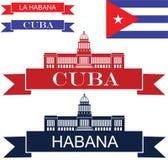 Cuba. Vector illustration (EPS 10 Royalty Free Stock Photo