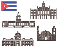Cuba. Vector illustration (EPS 10 Royalty Free Stock Photos