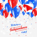 Cuba Vector Patriotic Poster. Independence Day. Stock Photography