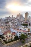 cuba Vieille La Havane Vue supérieure Prospectus des présidents Images libres de droits