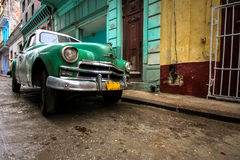 Cuba. A vintage car in Havana, Cuba Royalty Free Stock Photography
