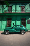 Cuba. A vintage car in Havana, Cuba royalty free stock photo