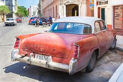 Cuba, vintage, used American car in Havana