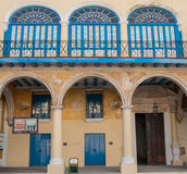 Cuba window architecture building 2013 Royalty Free Stock Image