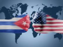 Cuba x USA Stock Images