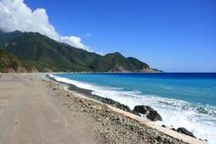 Cubaans strand (2) stock foto's
