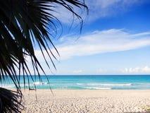 Cubaans strand stock foto's