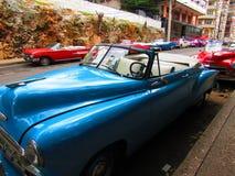 Cubaanse auto's stock foto