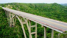 Cubaanse brug. provincie Mantanzas. Royalty-vrije Stock Fotografie