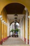 Cubaanse koloniale architectuur stock afbeeldingen