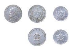 Cubaanse oude muntstukken royalty-vrije stock afbeelding