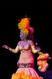 Cubaanse uitvoerder in Tropicana-cabaret Royalty-vrije Stock Foto's