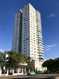 Cuban Apartment Tower - Havana, Cuba Royalty Free Stock Photos