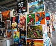 Cuban art stock photo