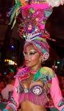 Cuban ballerina form Tropicana show Royalty Free Stock Images