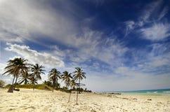 Cuban beach - Santa Maria del Mar Stock Photos