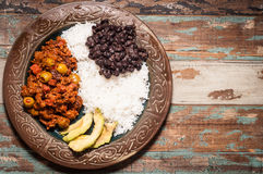 Cuban Beef Picadillo Royalty Free Stock Images