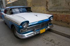 Cuban Blue and White Royalty Free Stock Images