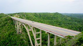 Cuban bridge. Mantanzas. Royalty Free Stock Photography